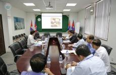 កិច្ចប្រជុំពិភាក្សាអំពីគម្រោងរៀបចំកម្មវិធី 17th ASEAN Ports and Shipping 2019 Exhibition and Conference