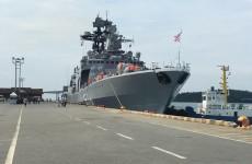 នាវាកងទ័ពជើងទឹករុស្សីចំនួន ០២ គ្រឿង ដែលមានឈ្មោះ (១) Admiral Panteleev, (២) Boris Butoma បានចូលចតនៅកំពង់ផែស្វយ័តក្រុងព្រះសីហនុ